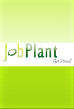 JobPlant.co.uk logo. The service launches in January 2009.