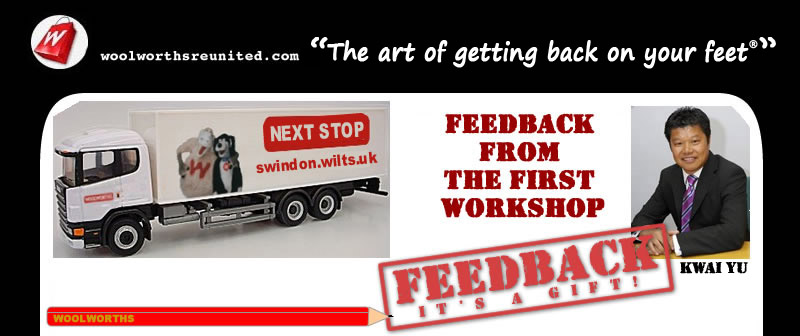 Next stop Swindon, Wiltshire for the Kwai Yu Workshops 'The art of getting back on your feet'