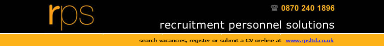 RPS Limited (Recruitment Personnel Services) have a strong retail client base and have already got a big name Woolies Manager back to work, just five days after signing up!